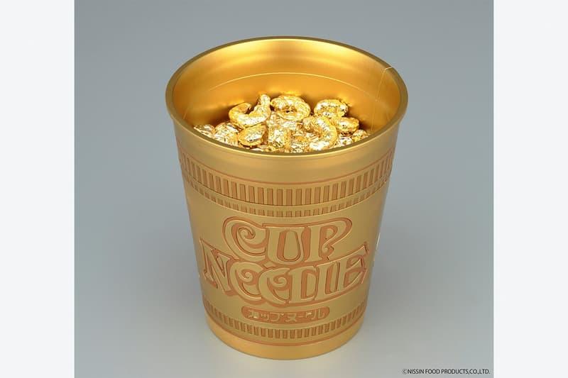 Bandai SPIRITS Golden Cup Noodle Model Toys instant ramen food snacks toys collectibles Momofuku Ando