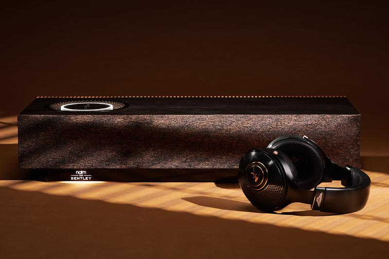 Bentley Naim Mu-so Special Edition Home Speaker Homeware Tech Focal Radiance Headphones Release Information Luxury Sound Experience Leather Wood British