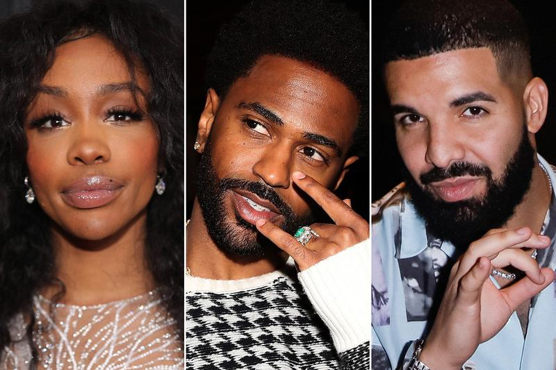 Best New Tracks SZA Big Sean Drake Justin Bieber HYPEBEAST Detroit 2 Bryson Tiller Lil Durk HipHop Hip Hop New Music Listen