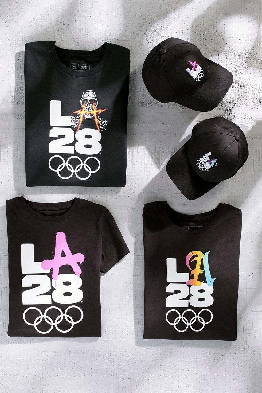 Billie Eilish、Dr.Woo 等藝術家打造 2028 年洛杉磯夏季奧運主題 Logo