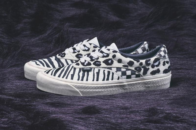 BILLY Vans Mixed Media Pack BESS BOLD ACER shoes sneakers trainers runners footwear kicks spring summer 2020 collection ss20 japan animal pattern leopard zebra crocodile