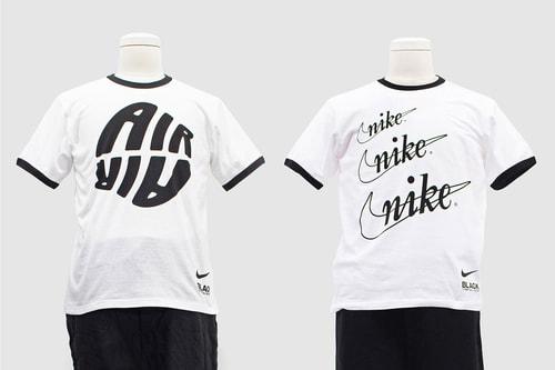 BLACK COMME des GARÇONS Drops Retro Revival Nike T-Shirts