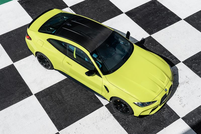 bmw m3 m4 coupe sedan competition unveil grille 2021
