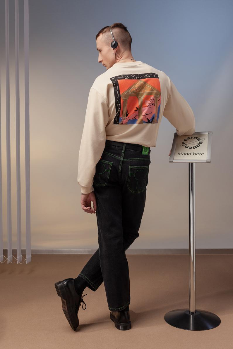 """Carne Bollente """"THE ODYSSEX"""" Fall/Winter 2020 Collection Lookbook Sex Greece Art History Culture Statues Mens Womens Clothing Accessories HIJIRI ENDO THÉODORE FAMERY AGOSTON PALINKO"""