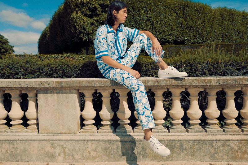 Casablanca Fall/Winter 2020 FW20 24S Exclusive Capsule Collection Charaf Tajer Eight Pieces Mens All Over Graphic Print Pieces Lookbook