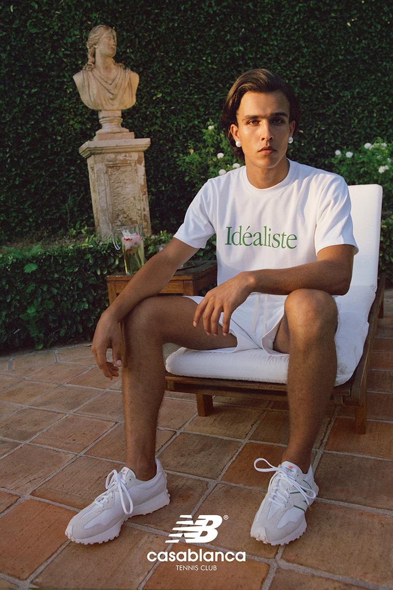 casablanca new balance 327 fall winter 2020 release information charaf tajer campaign first look