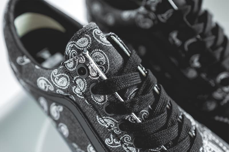 Case Study x Vault by Vans Paisley Old Skool Boontheshop sneaker kicks footwear South Korea old skool