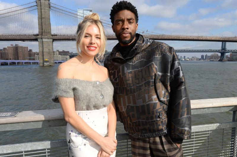 chadwick boseman remembrance sienna miller 21 bridges pay compensation salary boost sacrifice