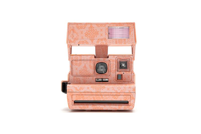 CLOT x Polaroid 600 Silk Royale Collection info Edison Chen Splash color Flash Instant Film Hong Kong Juice Store