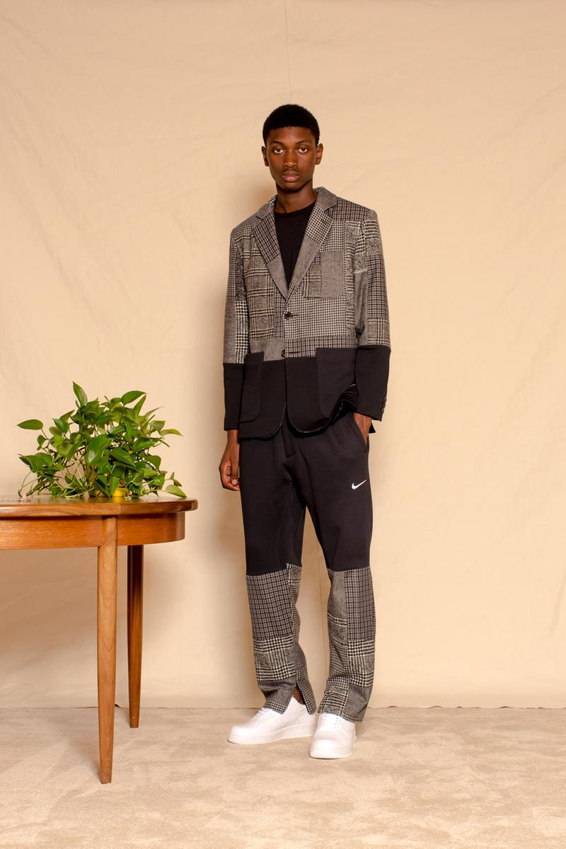 clothsurgeon_PROJECT EARTH Capsule Collection Release Information Three Piece Suit Nike SWEATsuit Nylon Ripstop Reclaimed Deadstock Fabrics T-Shirts Ralph Lauren Patchwork CREMATE Incense Cones Organic Limited Edition Rav Matharu