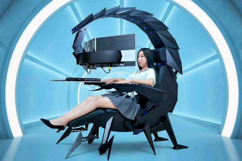 Cluvens IW-SK Zero-Gravity Esports Gaming Chair Workstation Release Info Buy Price