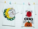 COMME des GARÇONS CDG Taps Online Ceramics for Spooky Halloween T-Shirts