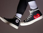 COMME des GARÇONS PLAY and Converse's Popular Chuck 70 Collection Has Restocked