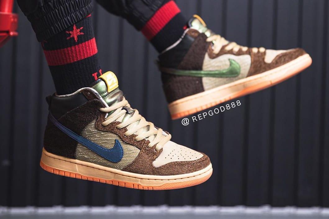 Concepts x Nike SB Dunk High \