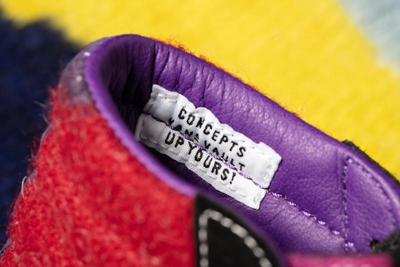 concepts vault by vans worlds end kings road punk sk8 hi slip on mohair vivienne westwood sweater black white pink purple official release date info photos price store list buying guide