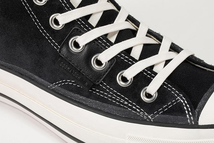 Converse Addict Holiday 2020 Coach Canvas Hi N.Hoolywood Sneaker Release Information First Closer Look Japan Japanese Limited Edition Rare Footwear Black White Green Chuck Taylor Black Suede
