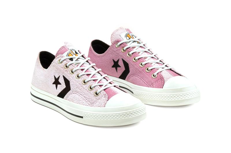 """Converse Star Player Reverse Terry """"Lotus Pink"""" Release shoes footwear sneakers shoes trainers"""