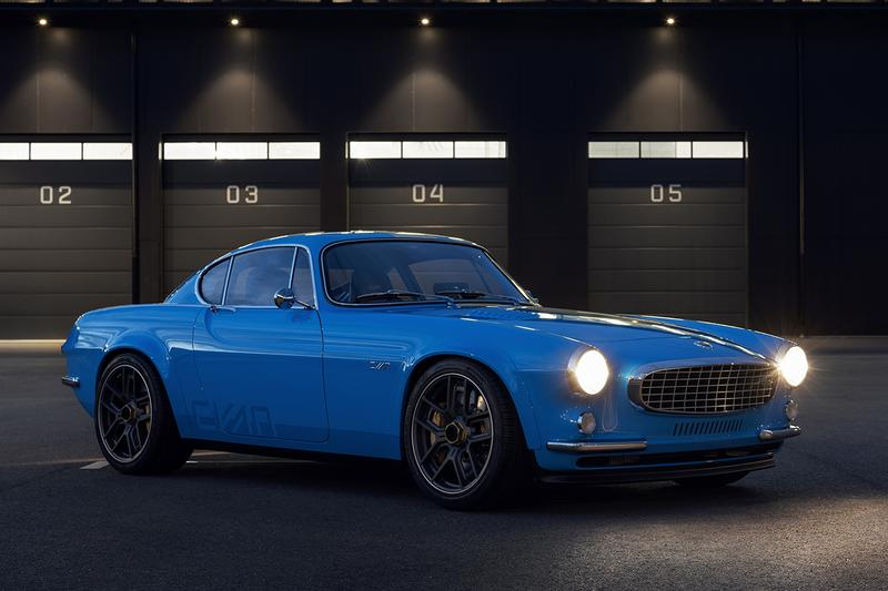 Cyan Racing Volvo P1800 Restomod Classic 1960s Racing Car Swedish Tuning Touring Car Engine 414 BHP Modern $500,000 USD Tuned Modified Upgraded