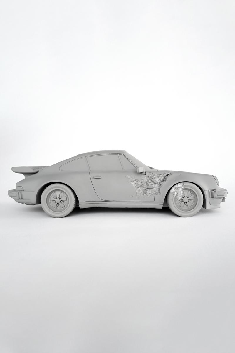 daniel arsham porsche eroded 911 turbo edition sculpture artwork