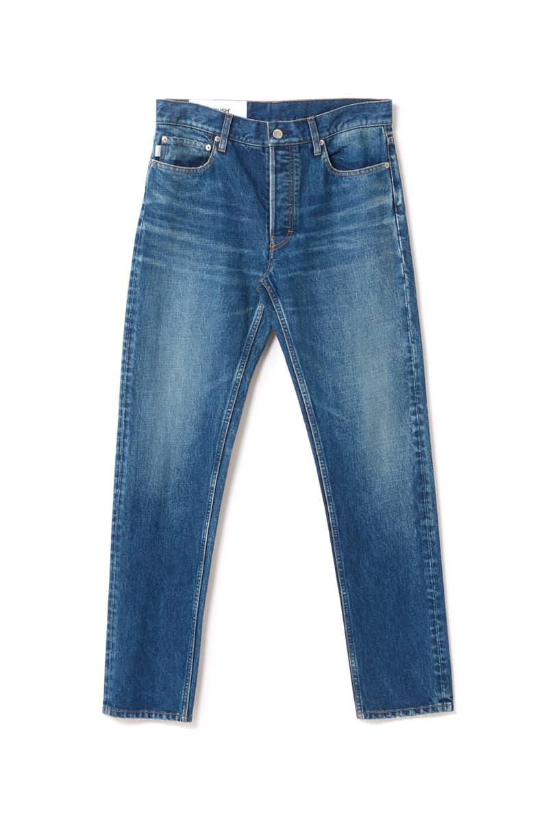 DENIM by AMBUSH Japanese Craftsmanship Essentials Staples Yoon Ahn WOKRSHOP Tokyo Japan Jacket Jeans Black Blue Skinny Wide Leg Flair Straight Shirts Distressed Bleached Raw