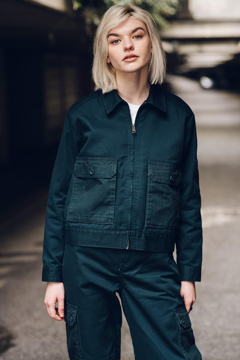 dickies life workwear release info fw20 fall winter 2020 release information moss green navy blue