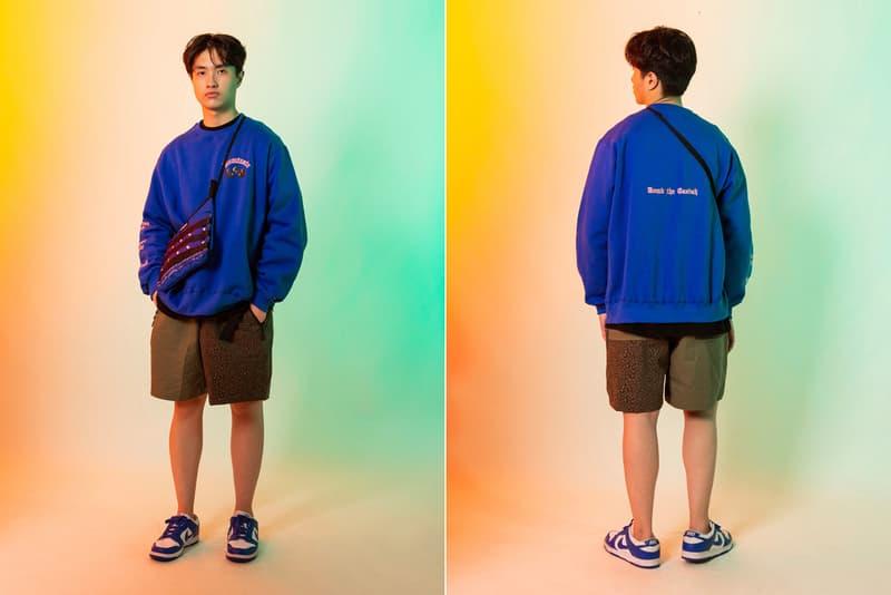 Dominate Jakarta Fall/Winter 2020 Collection lookbook jackets t-shirts long sleeves hawiian shirts boonie hat caps paisley bandana military