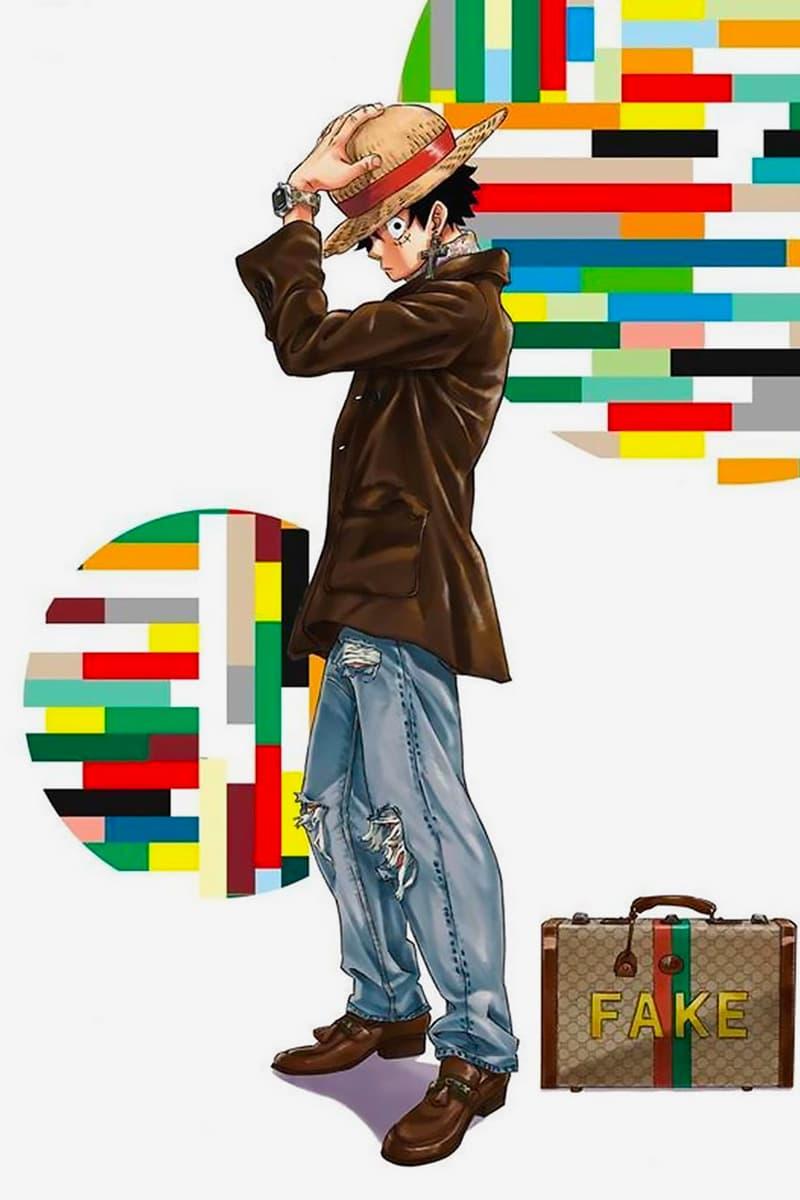 Eiichiro Oda One Piece Gucci Lookbook ELLEMEN CHINA Info images