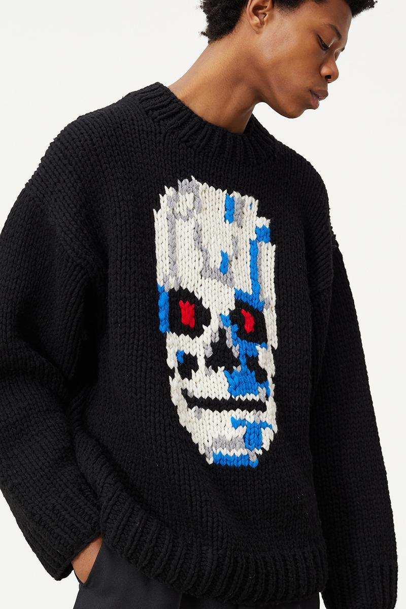 Études Fall/Winter 2020 2021 'Terminator 2: Judgment Day' Collection Lookbook Arnold Schwarzenegger Hasta la vista baby sci-fi film movie graphics prints knits t-shirts jumpers sweaters hoodies hats caps