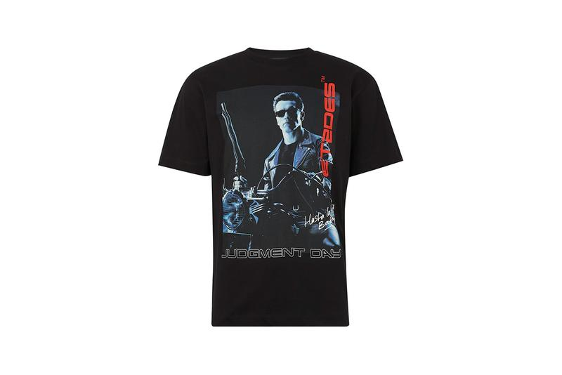 Études Wonder Hasta La Vista T-Shirt Booster T2 Cap 'Terminator 2: Judgement Day' Arnold Schwarzenegger 24S Print Graphic Tee Y2K 1991 Early 90s Homage Tops