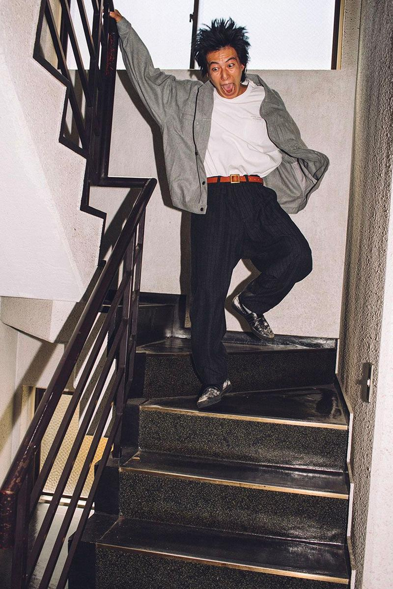 Evisen Skateboards Fall Winter 2020 Lookbook menswear streetwear fw20 collection jackets shirts pants trousers skateboarding t shirts graphics long sleeves sweaters