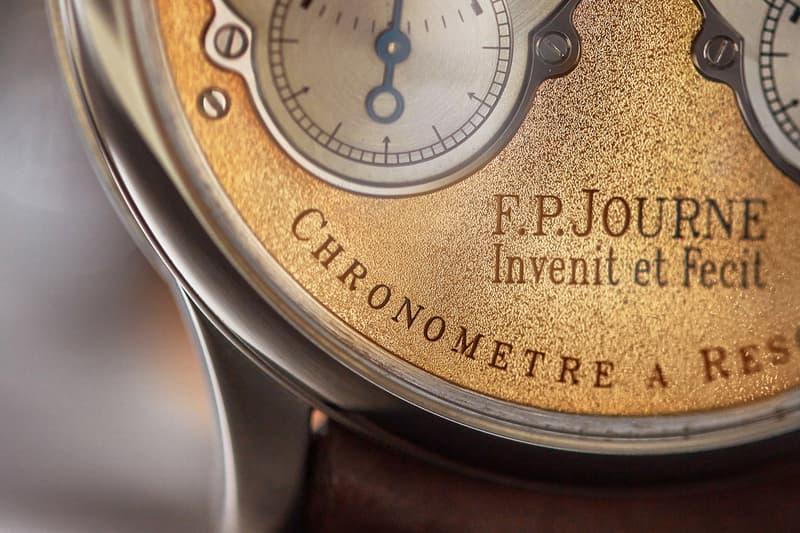 F.P.Journe A COLLECTED MAN Info Pre-Souscription Chronomètre à Résonance  François-Paul Journe Tourbillon Souverain 99T