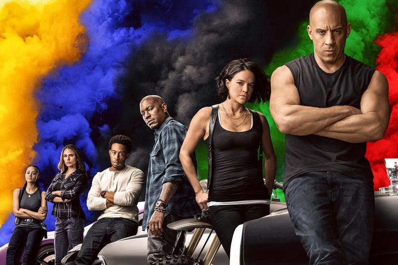 'Fast and Furious 9' Confirmed to Take the Franchise Into Outer Space Vin Diesel Dominic Toretto Michelle Rodriguez films justin lin cars automotive jdm