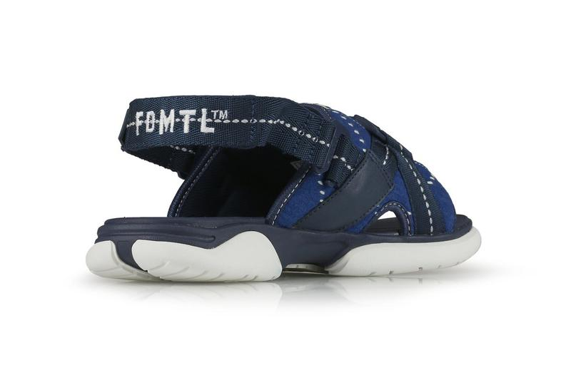 FDMTL x Gravis Cardiff Patchwork Sandal Release Information First Closer Look Footwear Slide Japanese Denim Skate Label Skateboarding Hanon Shop Drop