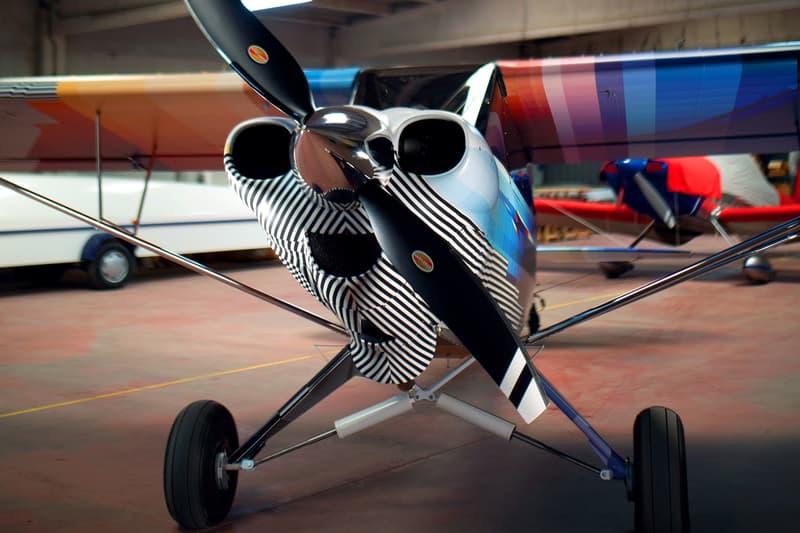 felipe pantone carbon cub airplane design artwork abstract