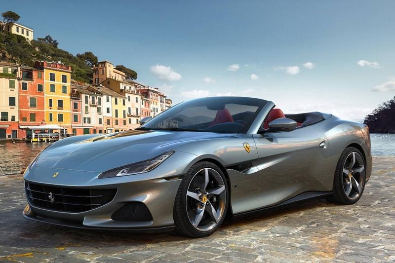 Ferrari Portofino M Revealed Italian Supercar V8 Front Engined Sportscar Grand Tourer Italy Prancing Horse 612 BHP Open Top Convertible Drop First Look Announcement Automotive Engineering Development Fast Power Speed Performance Figures Price Delivery