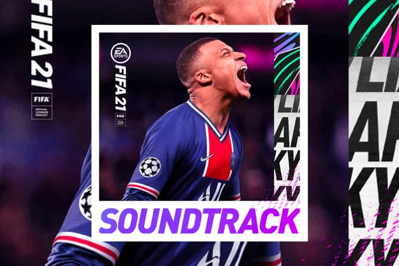 EA Sports FIFA 21 Soundtrack Stream rap grime uk songs tracklist album stormzy tame impala volta beam dua lipa charlie xcx big zuu p money