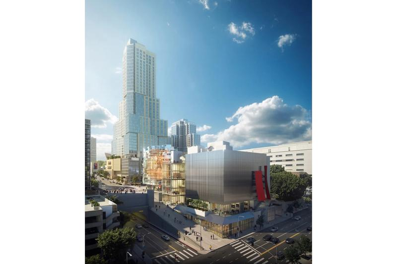 frank gehry performance venues downtown los angeles architecture design