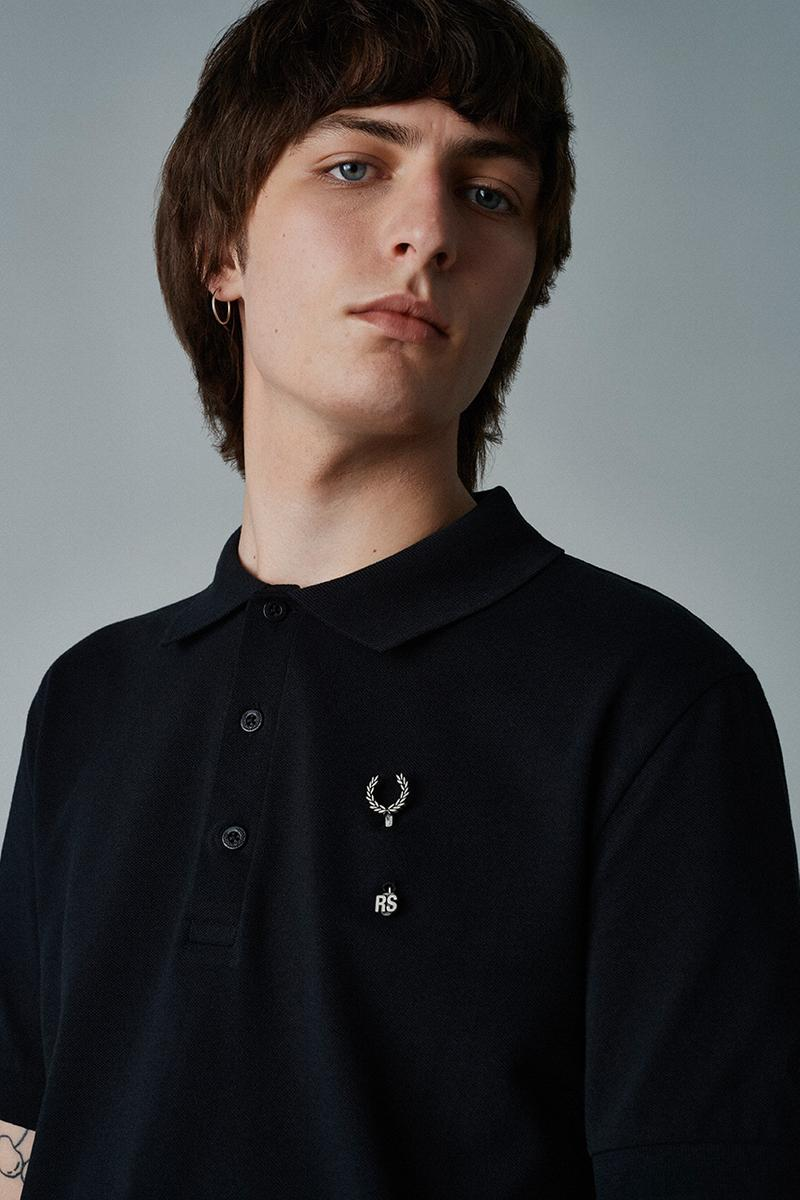 fred perry Raf Simons fall winter 2020 100 club collection oversized garments where to cop when does it drop
