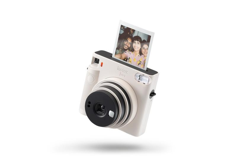 "Fujifilm instax Square SQ1 ""Terracotta Orange"" ""Glacier Blue"" ""Chalk White"" Camera Photography Instant Point Shoot Release Information Canada Selfie Mirror"