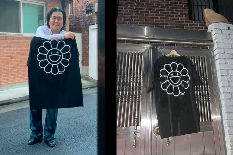 gagjinbeom Always Wet Boy Takashi Murakami T-Shirt Info Reveal