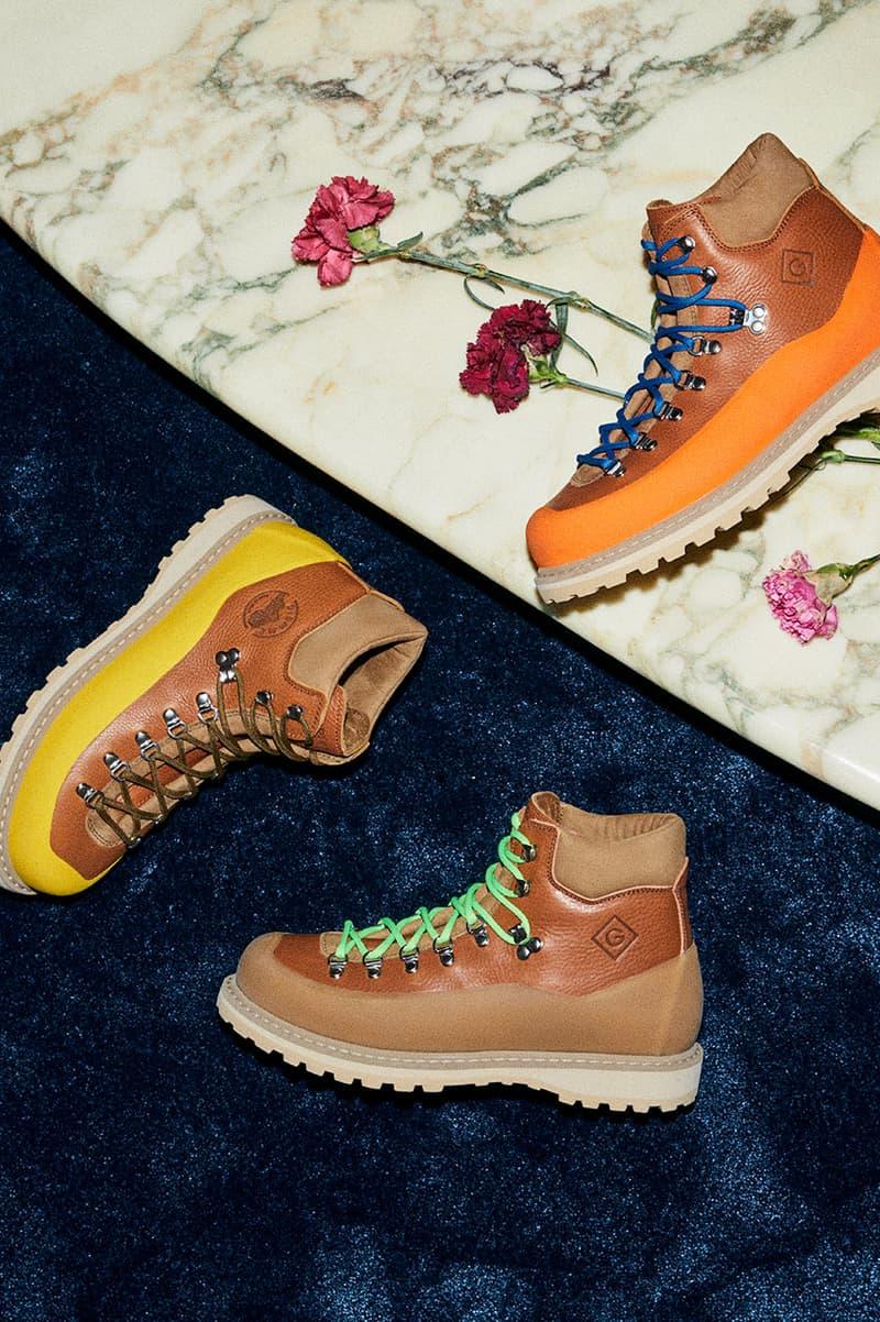 GANT Diemme Footwear Collaboration hiking boots italy roccia vet christopher bastin