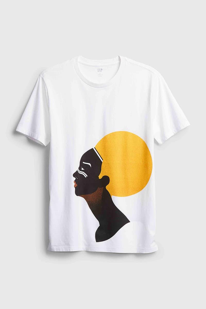 gap blm black lives matter black history month release t-shirt information