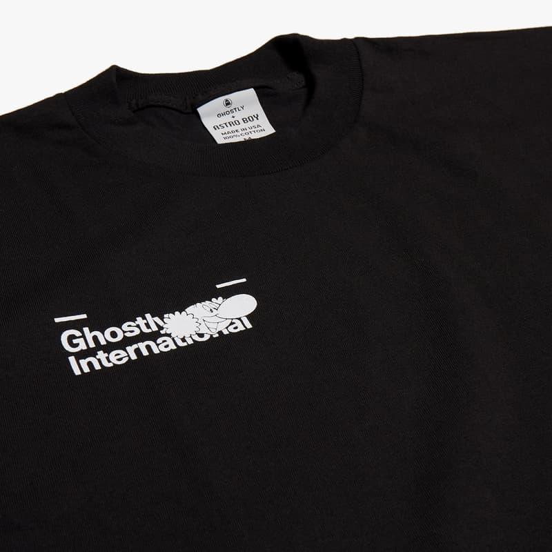 'Astro Boy' x Ghostly International Collaboration osamu tezuka collection eric hu nike sportswear ssense tee shirt tote bag release date buy