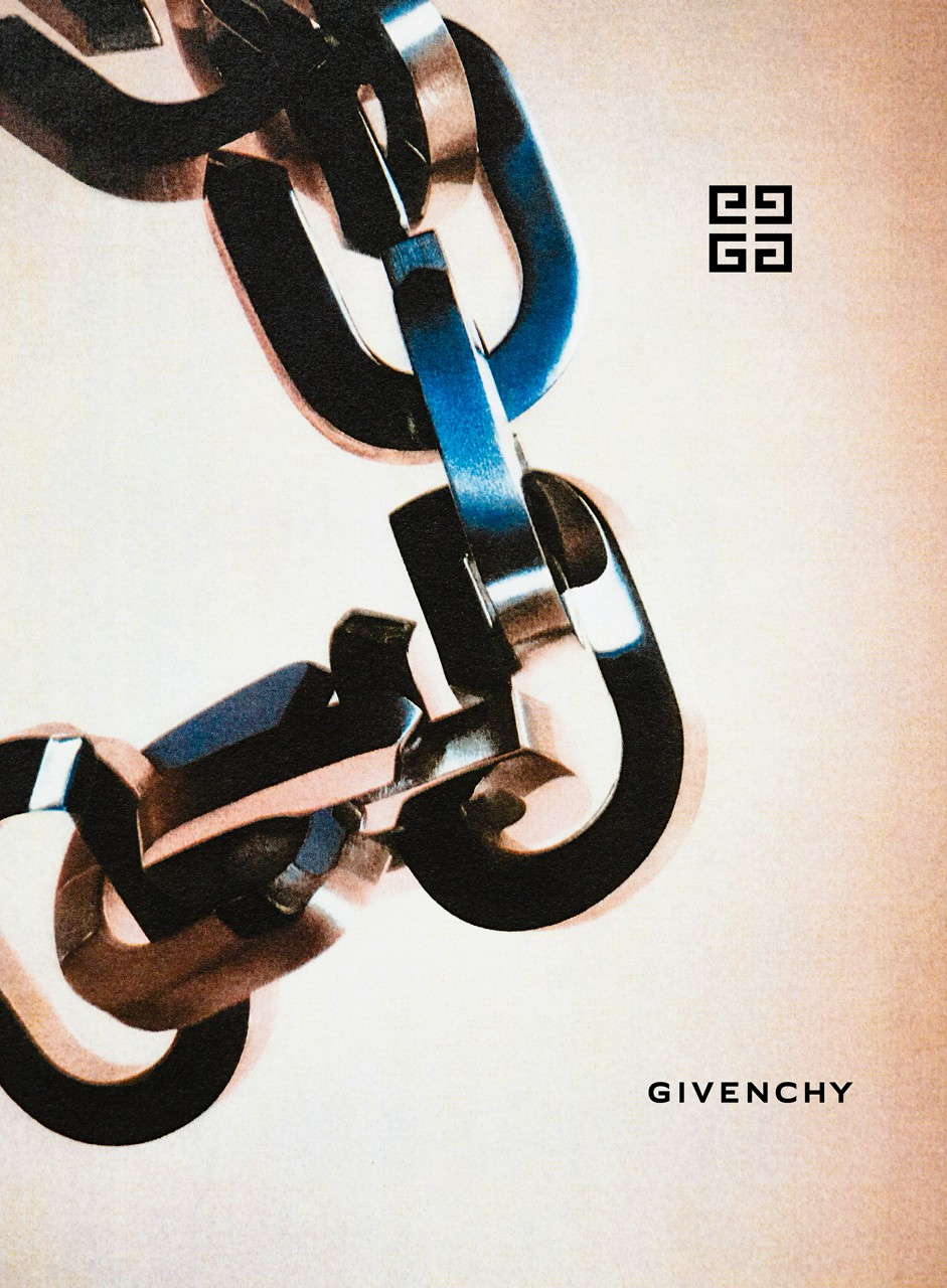 Matthew M. Williams' Debut Givenchy Campaign FW20 fall winter 2020 collection jewelry padlocks love locks chainlinks chain link logo 4g accessory menswear womenswear
