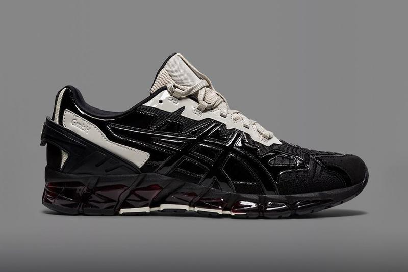 gmbh asics gel nandi 360 asymmetrical black cream tan red fw20 official release date info photos price store list buying guide