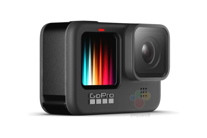 gorpo hero 9 black winfuture leaks 5k video recording front facing colored display vlogging