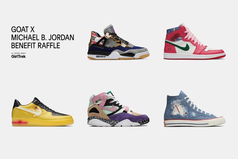 facil de manejar Influencia Médico  Michael B. Jordan x GOAT Charity Sneaker Raffle   HYPEBEAST