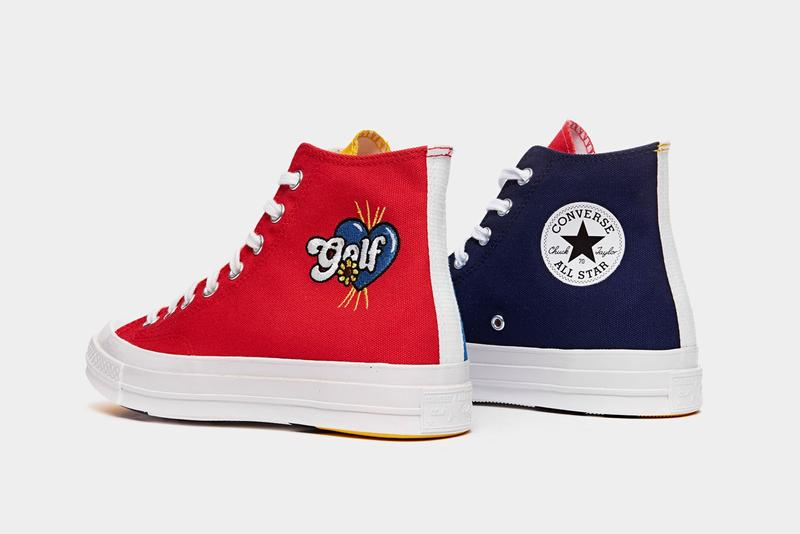 golf wang tyler the creater converse chuck 70 hi high red yellow blue navy white smiley face official release date info photos price store list buying guide