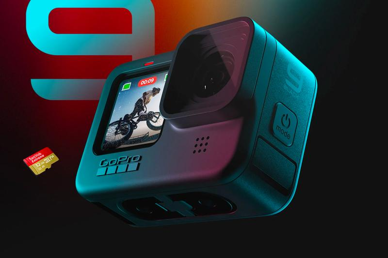 The GoPro Hero 9 Black Has Just Released action cams outdoors adventure cameras GoPro Max Lens Mod Hypersmooth
