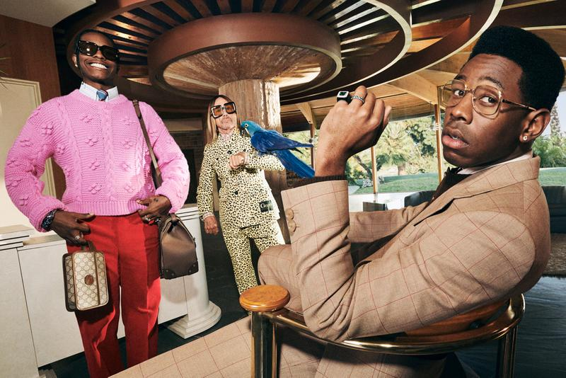 """Gucci Men's Tailoring Campaign """"Life of a Rock Star"""" A$AP ASAP Rocky Tyler, the Creator Iggy Pop Menswear Alessandro Michele Suits Harmony Korine Video Campaign Lookbook Photoshoot"""
